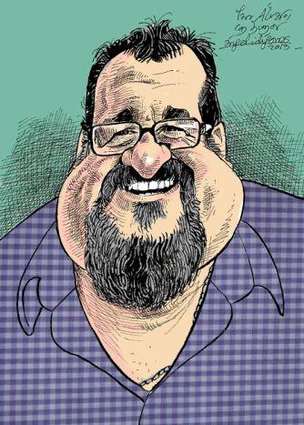 Caricatura Álvaro de Angel Idigoras para blog