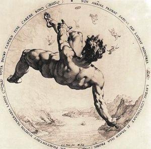 Hendrick Goltzius The fall of Phaëton