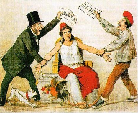 "España, I República ""federal-unitaria"" [1870]"