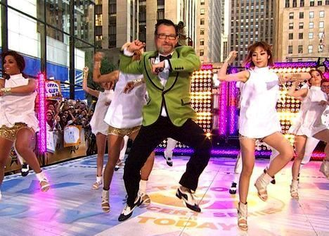 father bailando