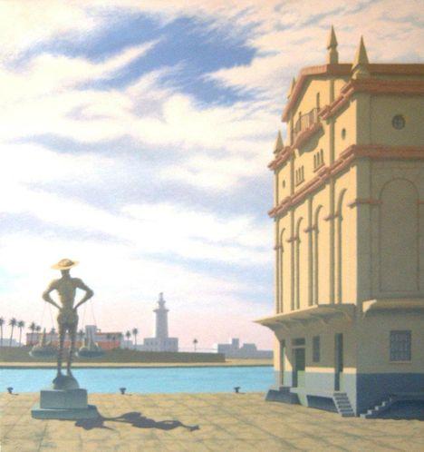 El Gran Cenachero Alquidico sobre lienzo 64x60