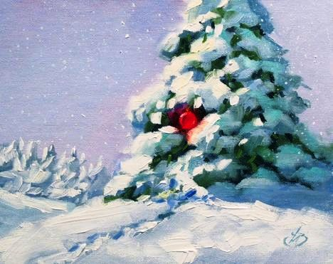 christmas-tree-painting-wallpaper