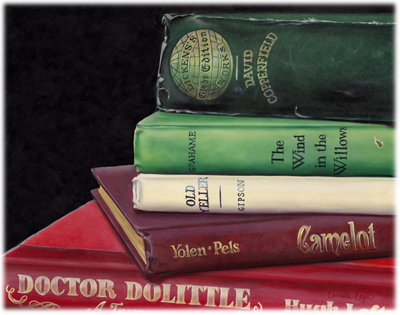 177-Dr-Dolittle-Camelot-Books-Painting
