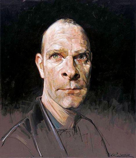 Sebastian Kruger Self Portrait
