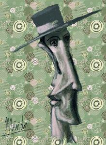 Gitanito. Pintura Digital. MLG. 2013