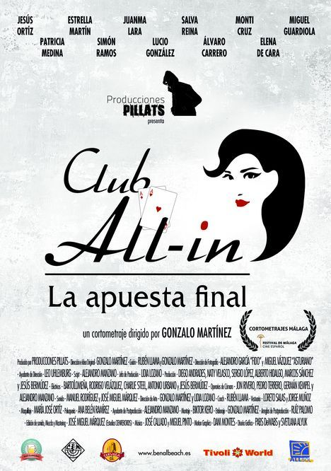 Cartel Club All in. La apuesta final