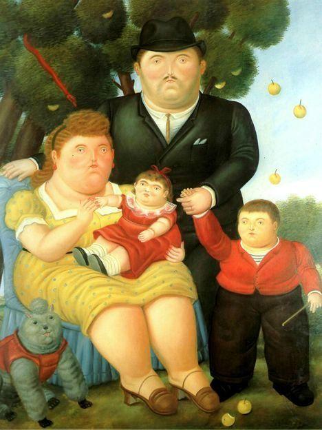 BOTERO - La famigliaEBAY