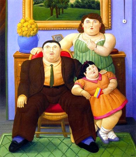 Fernando Botero Paintings 20
