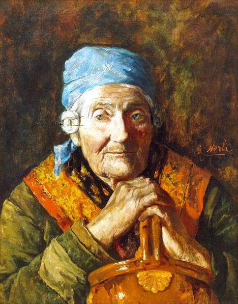 Girolamo_Nerli_-_An_old_woman_(study)_-_Google_Art_Project