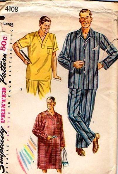Vintage-mens-pyjamas