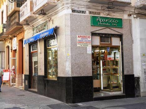 Confitería Aparicio. Málaga