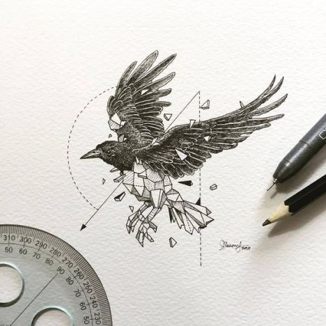 Beauty-Wild-Animals-Intricate-Drawings-by-Kerby-Rosanes-88