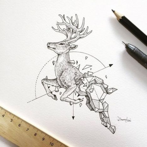 Wild-Animals-Intricate-Drawings-by-Kerby-Rosanes-77