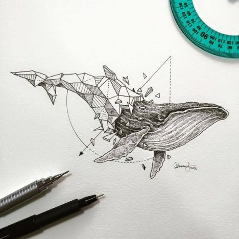 Wild-Animals-Intricate-Drawings-by-Kerby-Rosanes-771