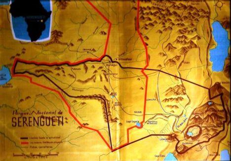 serengueti mapa